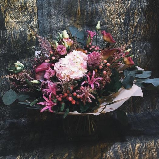 Букет «Марсель»: букеты цветов на заказ Flowwow
