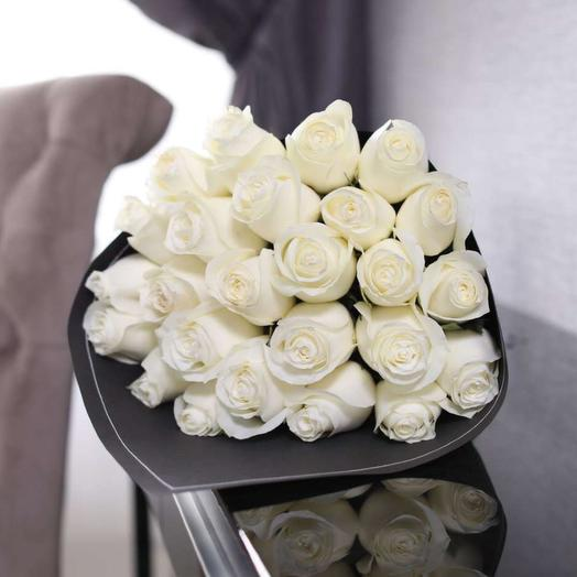 Bouquet of 25 roses 60 cm