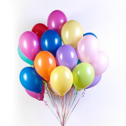 """Облако шаров """"Яркая карамель"""": букеты цветов на заказ Flowwow"""