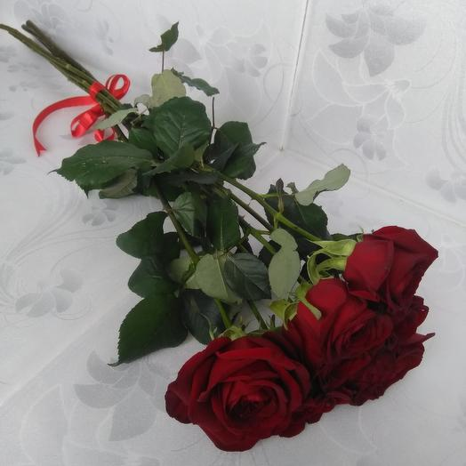 Bouquet of 7 roses: flowers to order Flowwow