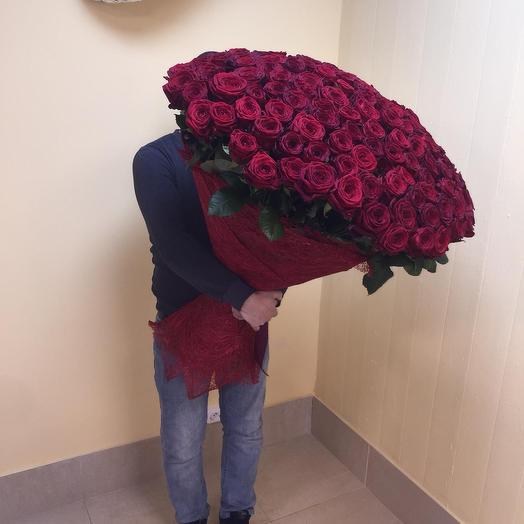 151 роза 80см