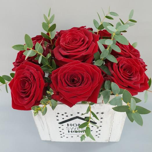 Красный прованс: букеты цветов на заказ Flowwow
