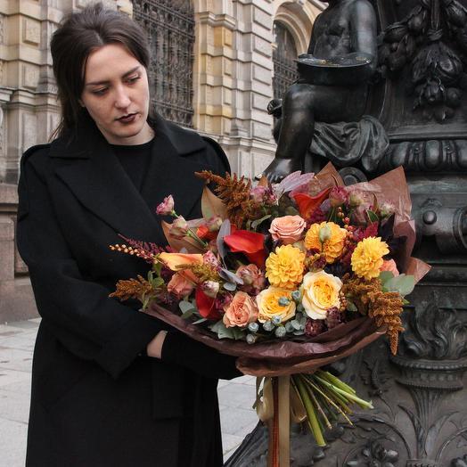 Климт: букеты цветов на заказ Flowwow