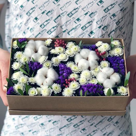 Box 20 Малый 1: букеты цветов на заказ Flowwow
