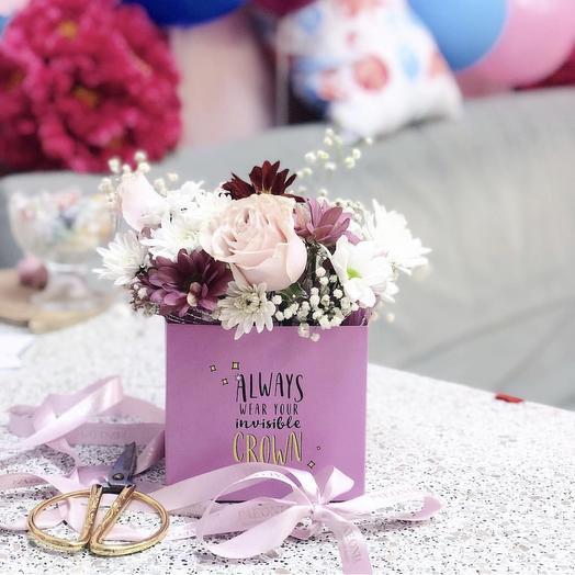 Мини 5: букеты цветов на заказ Flowwow