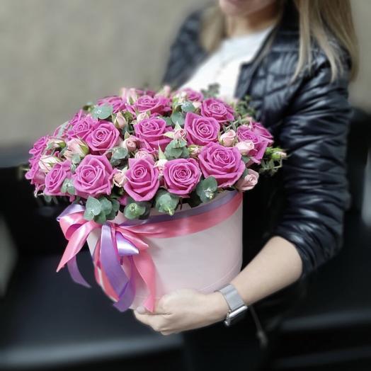 Розовый закат Z9: букеты цветов на заказ Flowwow