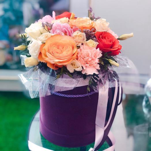 Коробка 37: букеты цветов на заказ Flowwow