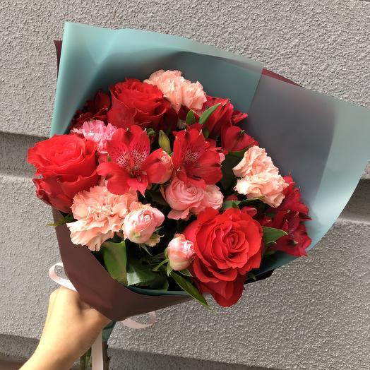 Букет 2125: букеты цветов на заказ Flowwow