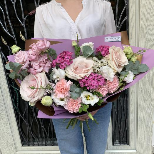 Букет -1: букеты цветов на заказ Flowwow