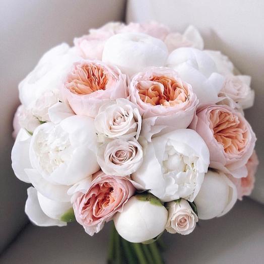 Свадебный букет: букеты цветов на заказ Flowwow