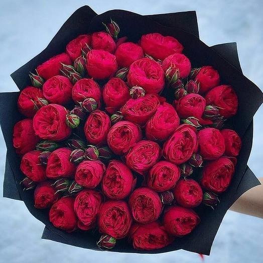 Строгий стиль: букеты цветов на заказ Flowwow