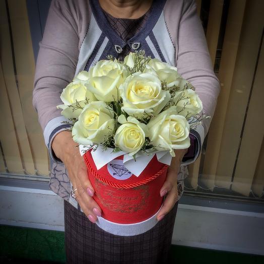 Белый: букеты цветов на заказ Flowwow