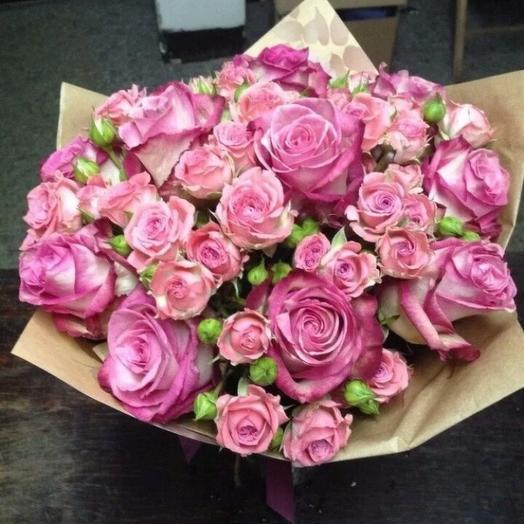 Букет Коктейль: букеты цветов на заказ Flowwow