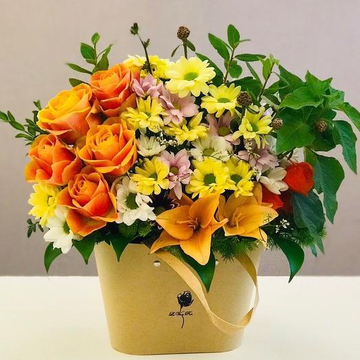 Композиция «Мечта»: букеты цветов на заказ Flowwow