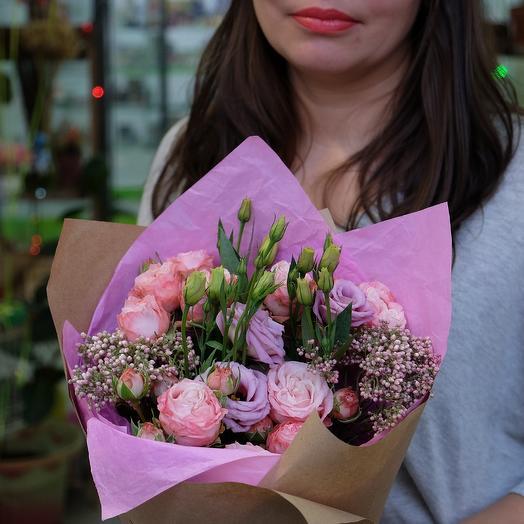 Нежность и романтика: букеты цветов на заказ Flowwow