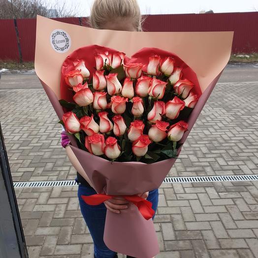 Букет Я люблю тебя: букеты цветов на заказ Flowwow