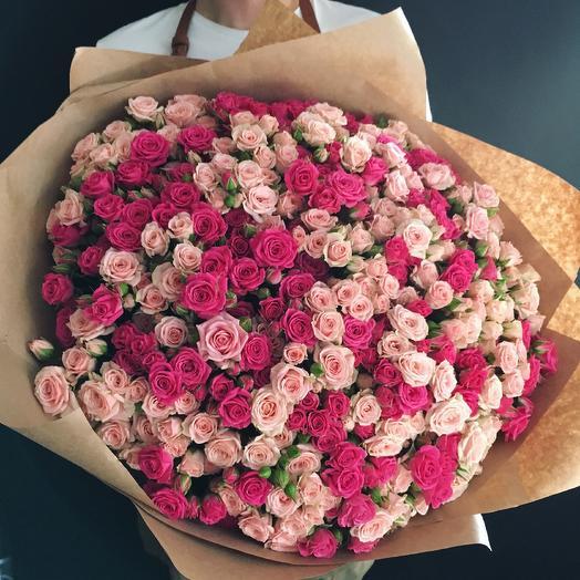 201 кустовая Роза: букеты цветов на заказ Flowwow