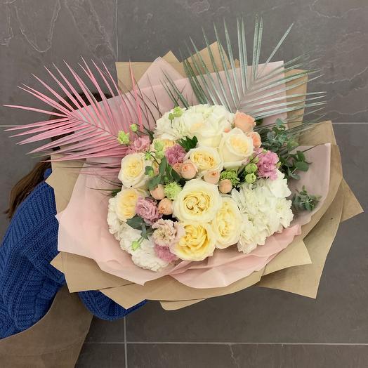 Любовь от гиганта: букеты цветов на заказ Flowwow