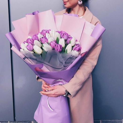 Моей красотке: букеты цветов на заказ Flowwow