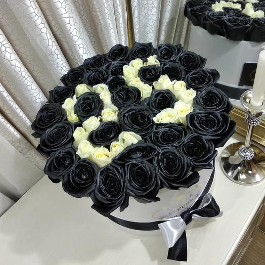 Черные розы на день рождения