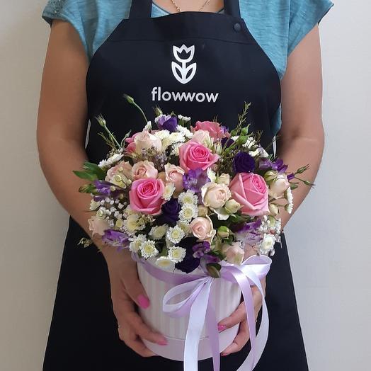 Любимой красотке): букеты цветов на заказ Flowwow