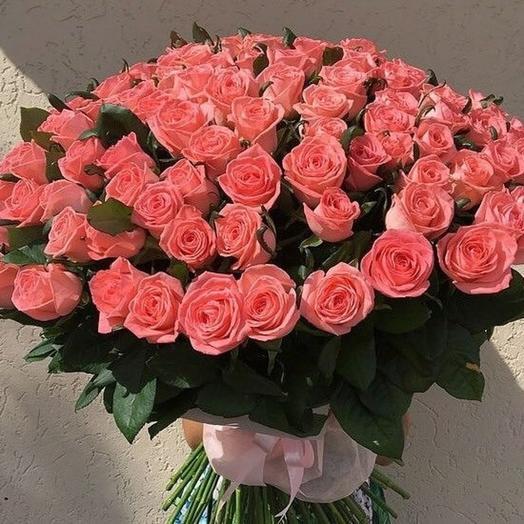 Букет 51 роза Анна Карина