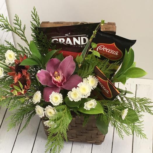 Сладкий сундук🌹: букеты цветов на заказ Flowwow