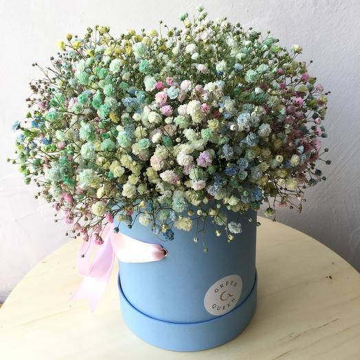 Композиция Гипсофила Unicorn: букеты цветов на заказ Flowwow