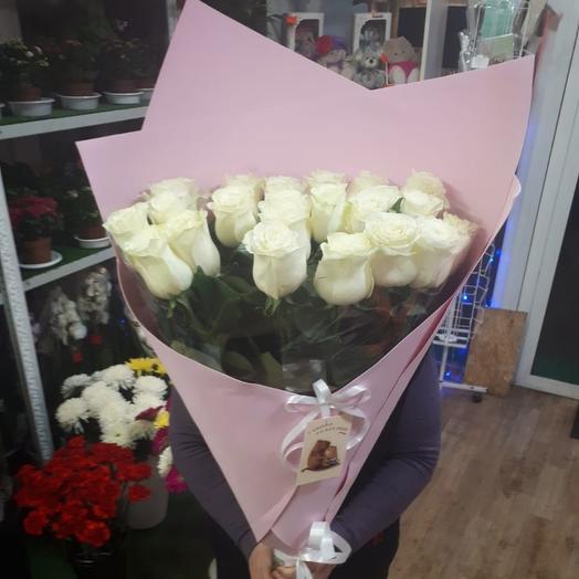 """Букет""""Белые розы"""""""
