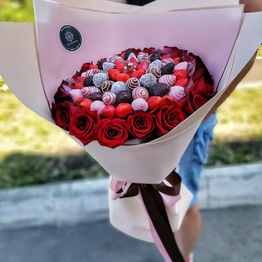 """Букет гигант """"Бескрайняя любовь"""""""