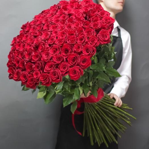 101 преміум троянда