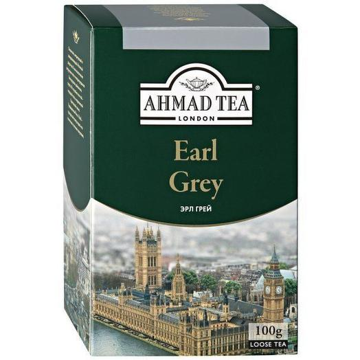 Чай Ahmad Tea Earl Grey черный листовой 100 гр