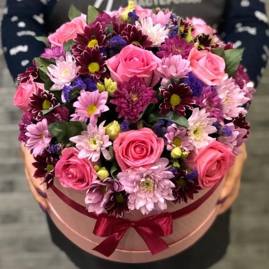 Цветы в коробке 0065787