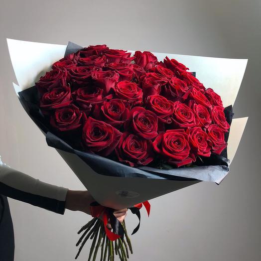 """Букет""""Красная роза"""""""