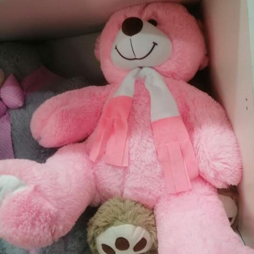 Оскар 120 см Розовый