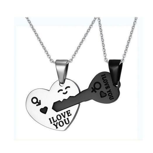 """Кулоны для влюбленных """"Сердце и Ключ"""""""