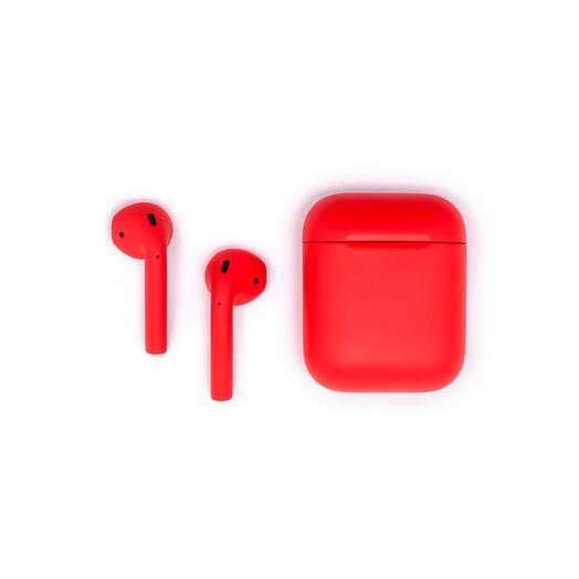 Беспроводные наушники Apple Airpods Color 2 Red Красный Матовый