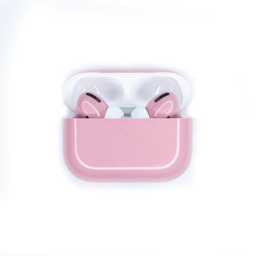 Беспроводные наушники Apple AirPods Pro Color Glossy Pink Глянцевые Розовые