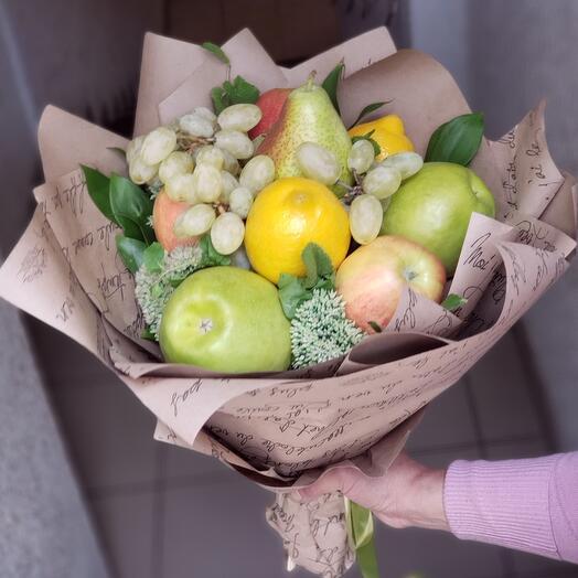 фруктовый букетик 🍏🍋