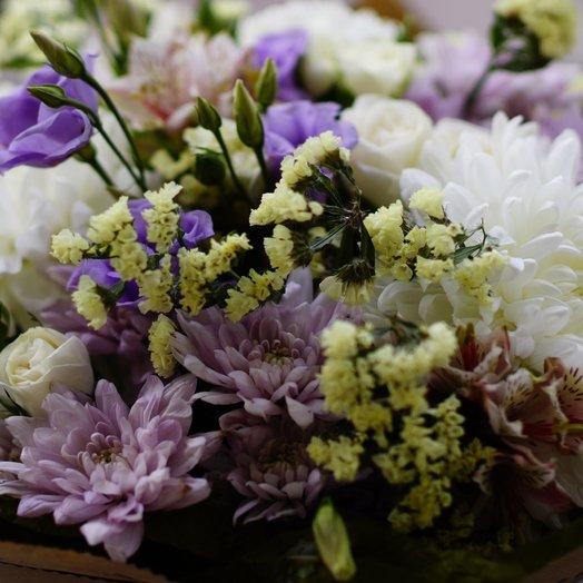 Нежный стойкий букет: букеты цветов на заказ Flowwow