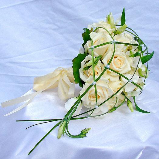 Букет невесты «Айсберг»: букеты цветов на заказ Flowwow