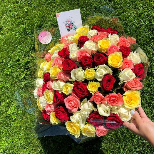 Самый яркий букет: букеты цветов на заказ Flowwow