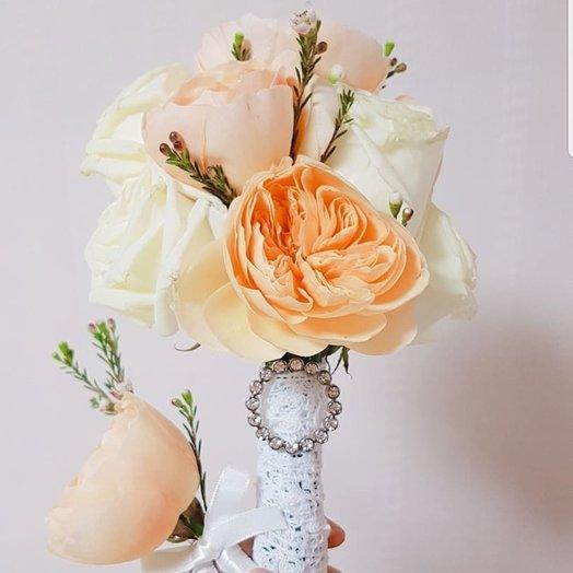 Свадьба, набор из Кореи: букеты цветов на заказ Flowwow