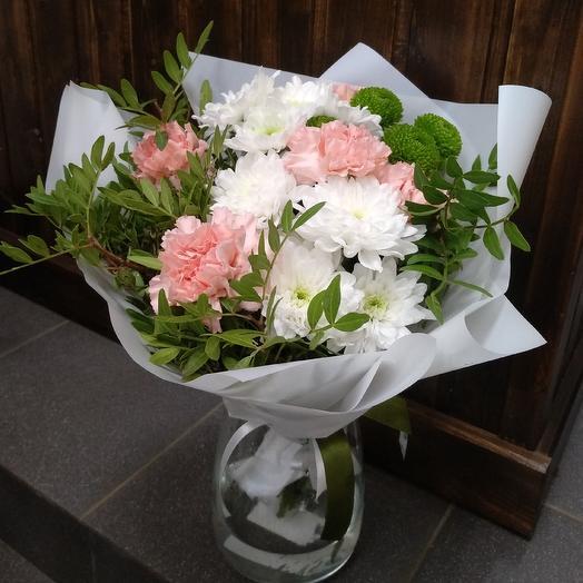 Персиковое мороженое: букеты цветов на заказ Flowwow
