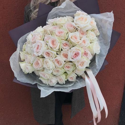 Вайт охара: букеты цветов на заказ Flowwow