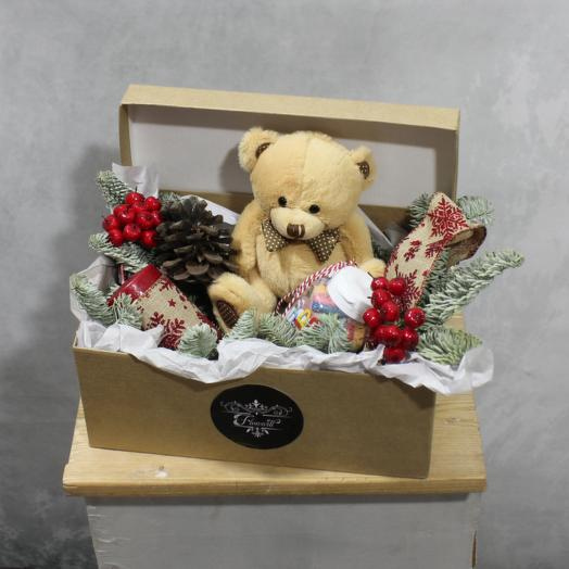 Зимние подарки: букеты цветов на заказ Flowwow