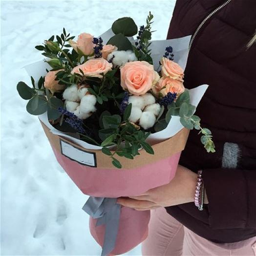 Sweet rosy: букеты цветов на заказ Flowwow