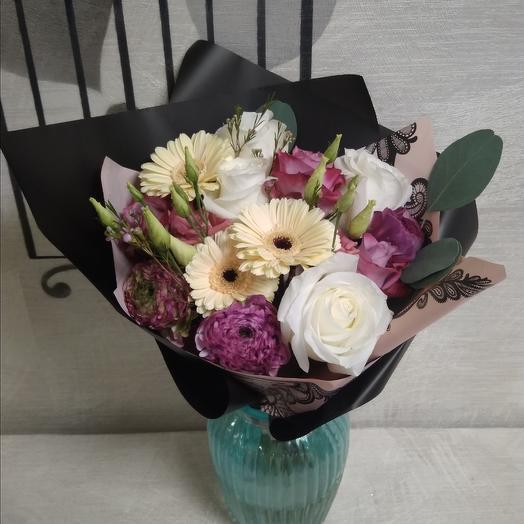 Бохо Дарк: букеты цветов на заказ Flowwow