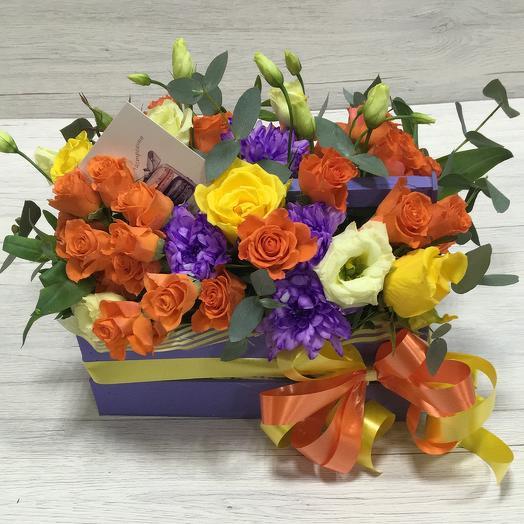 """""""Рыжик"""": букеты цветов на заказ Flowwow"""
