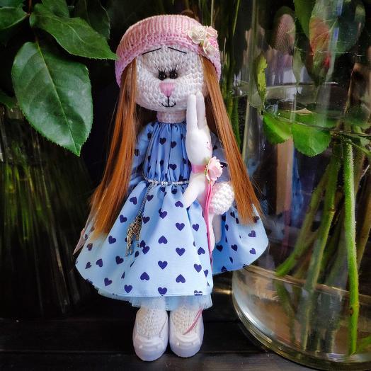 Кукла Тильда кошечка: букеты цветов на заказ Flowwow